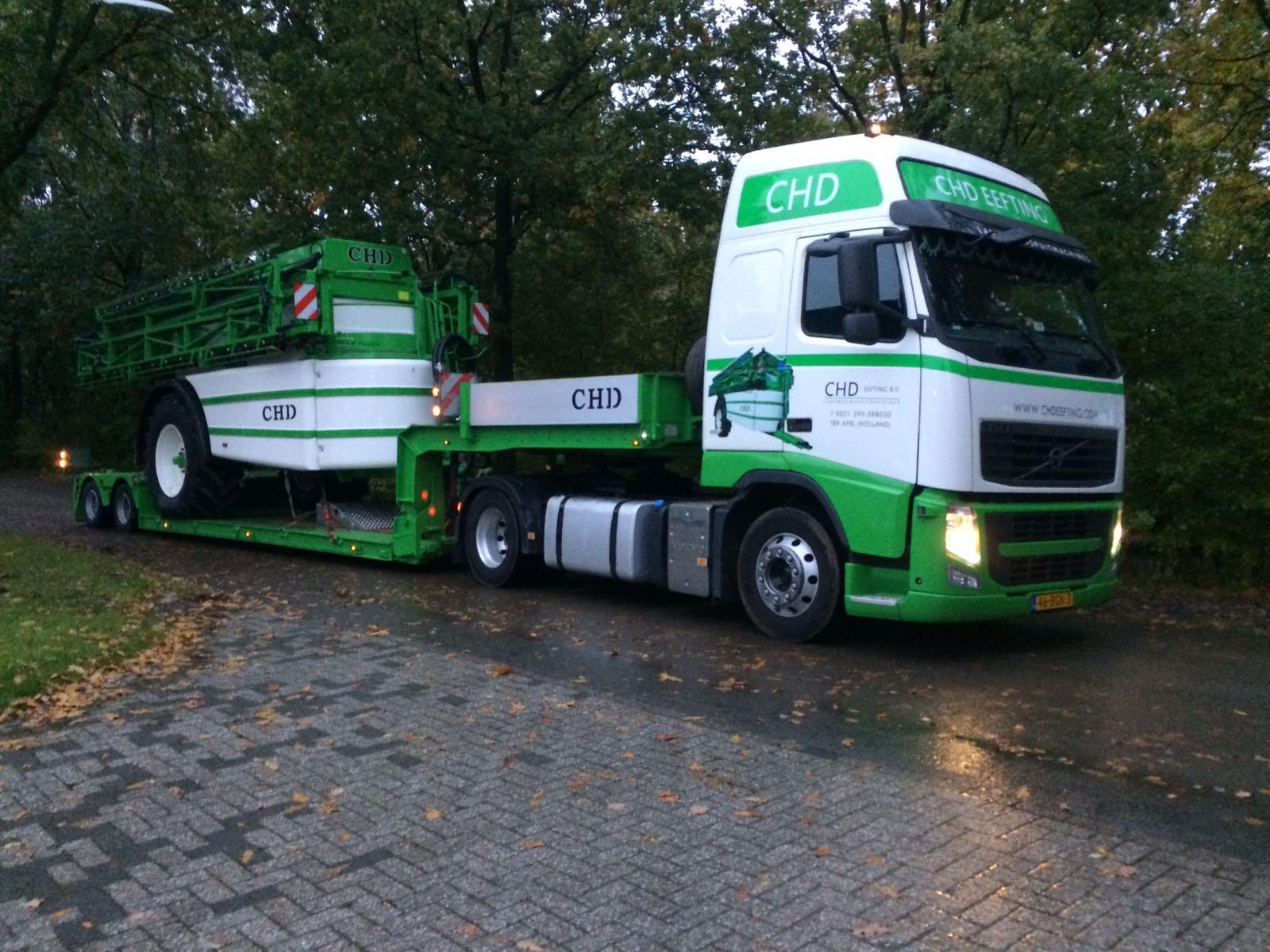 CHD vrachtwagen